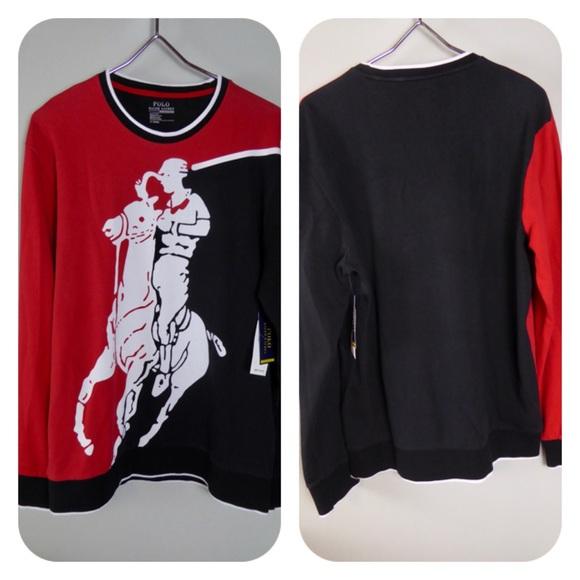 Polo Ralph Lauren Interlock LS BIG Pony Shirt NWT